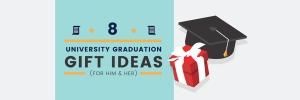 8 Unique University Graduation Gift Ideas (For Him & Her)
