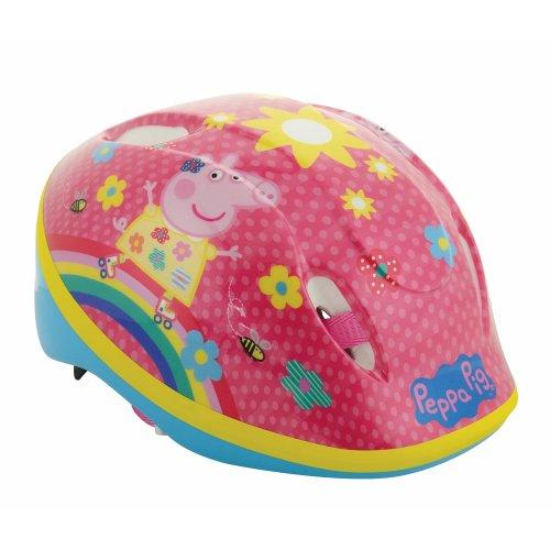 Peppa Pig Girl Safety Helmet, Multicoloured, 48-54 cm