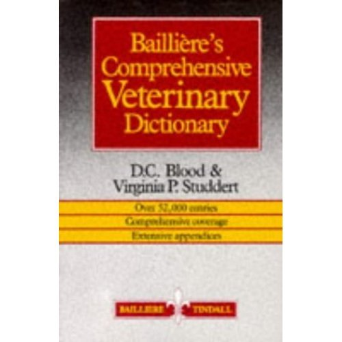 Bailliere's Comprehensive Veterinary Dictionary