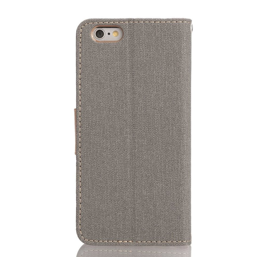 separation shoes dbed9 7d36f iPhone 6S Leather Case, iPhone 6 Leather Case, IPHOX Premium Folio Leather  Wallet Case with [Kickstand] [Card Slots] [Magnetic Closure] Flip...