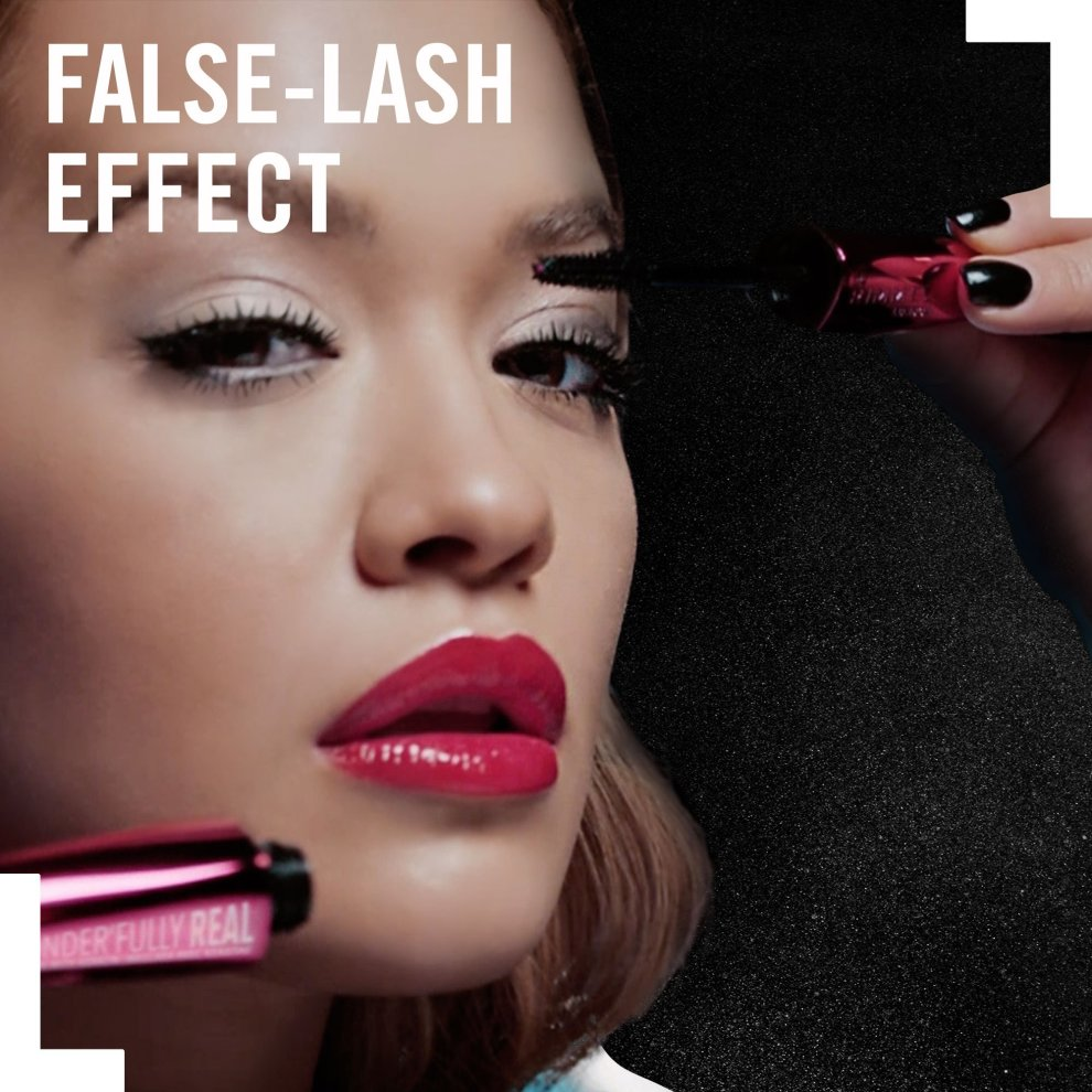 6b10d2923c8 ... London Wonder'Fully Real Mascara, Black, 11 ml - 7. > Mascara with  nylon fibres; Stunning length and gorgeous volume; Wonder Precision Brush  to reveal ...