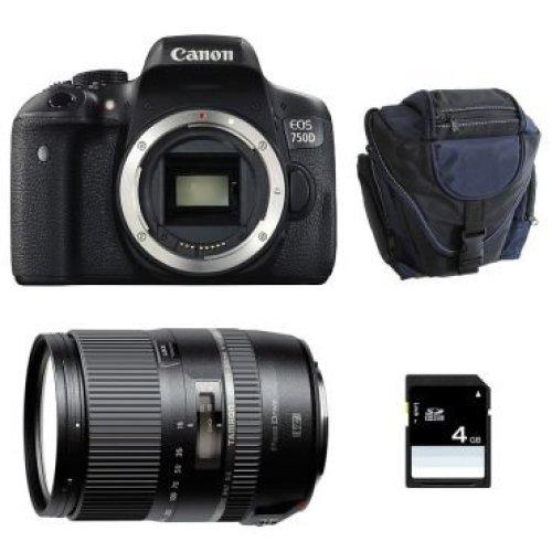 CANON EOS 750D + TAMRON 16-300mm F3.5-6.3 Di II VC PZD MACRO (B016)
