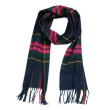 Stylish Shawl Luxurious Scarf Tassel Super Soft Luxurious Winter Warm Scarf (C )