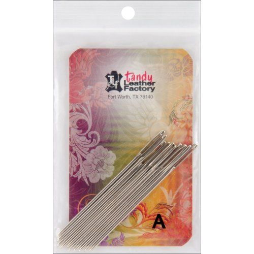 Tandy Leather Stitching Needles-10/Pkg