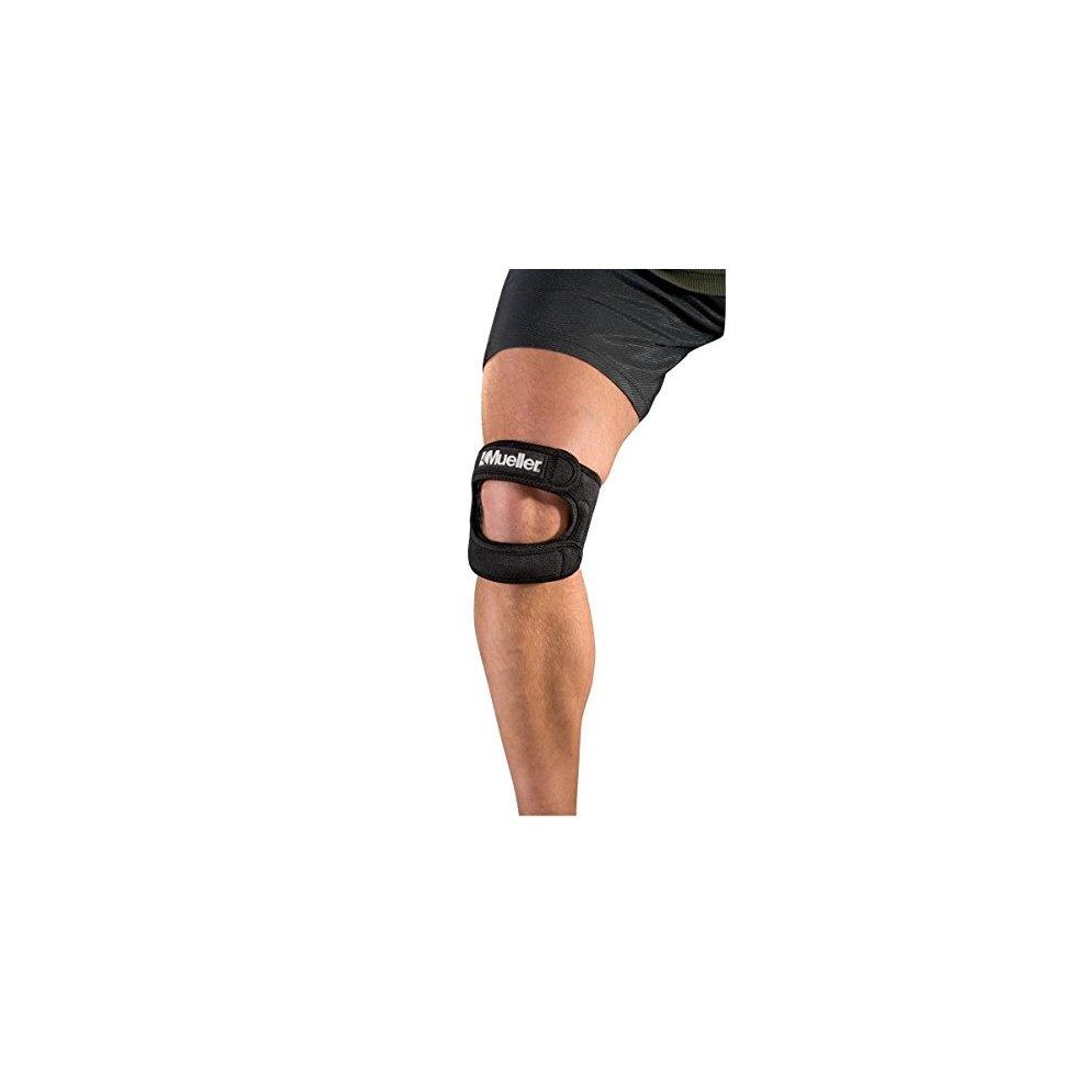 68cb4d1996 ... Mueller Patella Tendon Knee Support - Wrap Around Compression Max Knee  Strap - 4 ...