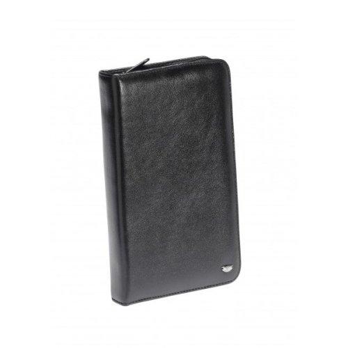 Falcon Leather kindle/passport holder - FI3000 Black