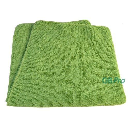 GBPro Eco Premium Microfibre Cloth - Green (40 x 40cm)