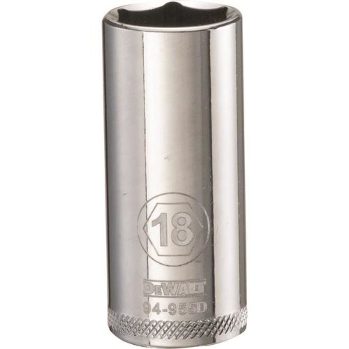 Stanley Tools 227860 18mm Deep Socket - 0.37 in. Drive