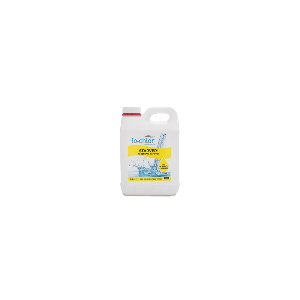 Lo chlor starver phosphate remover for pool water - Phosphate treatment for swimming pools ...