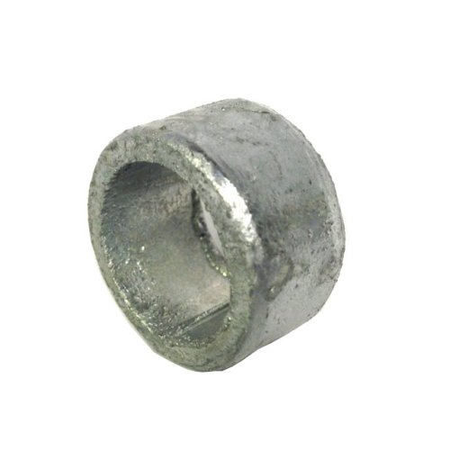 Non threaded spacer / washer 21 mm ID  25 mm length - Galvanised Mild Steel