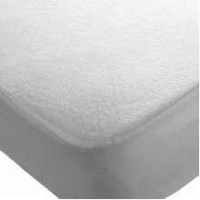 2x Travel Cot Waterproof Fitted Sheets 95 x 65 cm