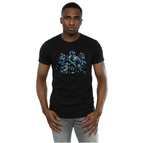 Star Wars Men's Rogue One Death Trooper Squadron T-Shirt