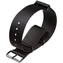 ZULUDIVER® Nylon Watch Strap NATO Black 22mm