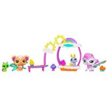 Littlest Pet Shop Fairies Shimmering Sky Candy Cloud Café Set