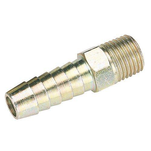 """Draper 25801 1/4"""" BSP Taper 3/8"""" Bore PCL Male Screw Tailpiece"""