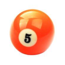 1 PCS Cue Sport Snooker USA Pool Billiard Balls 57.2 mm /2-1/4 - NO.5