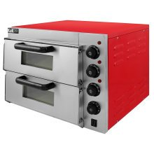 "KuKoo 16"" Twin Deck Electric Pizza Oven"