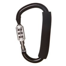 Dreambaby Stroller Carabiner with Combination Lock (large)