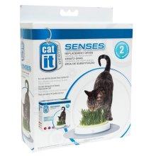 Catit Senses Grass Garden Grass Refill 2pack