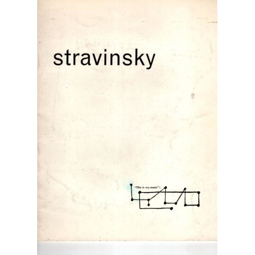 Stravinsky 'This Is My Music' Royal Festival Hall 1965 ,