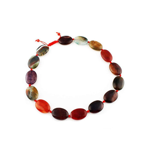 Stunning Agate Gemstone Necklace for Women and Girls