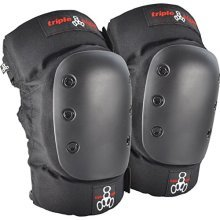 Triple 8 KP 22 Knee Pads (Black, X-Large)