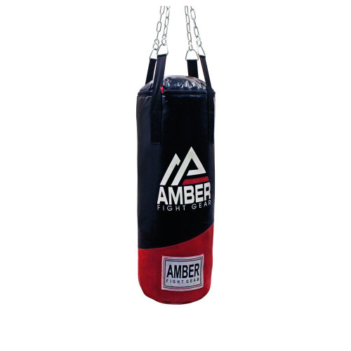 Amber Fight Gear Heavy Bag Boxing Muay Thai MMA Fitness Workout Training Kicking Punching Unfilled Empty Heavy Bag
