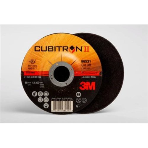 3M 103153185 T27 Cut-Off Wheel - 4.5 x 0.045 x 0.87 in.