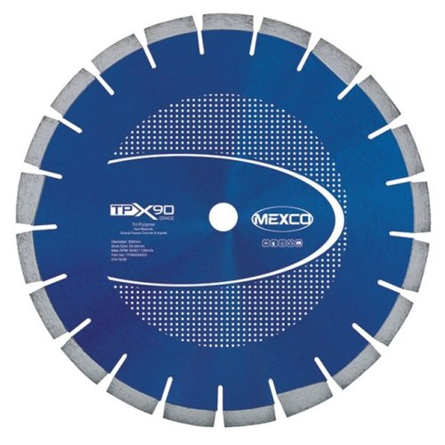 Mexco TPX90 300mm Tri-Purpose Diamond Blade