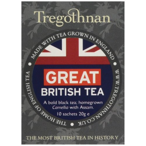 Tregothnan Great British Tea (Pack of 1, Total 10)