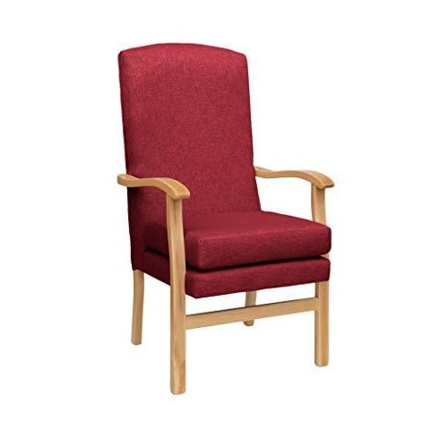 MAWCARE Deepdale Ortopaedic High Seat Chair - 19 x 20 Inches [Height x Width] in Highland Red (lc48-Deepdale_h)