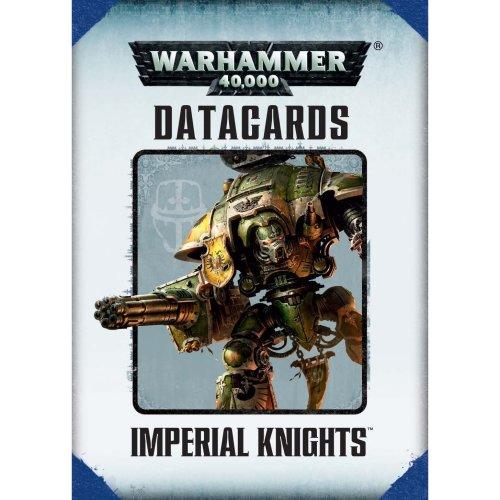 Games Workshop - Warhammer 40,000 - Datacards: Imperial Knights