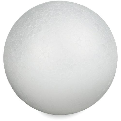 "Smooth Styrofoam Balls 4""-"