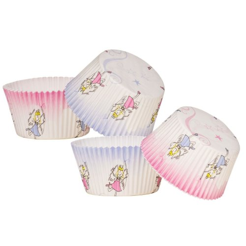 Fairy Design Large Cupcake Cases, 40 Pieces