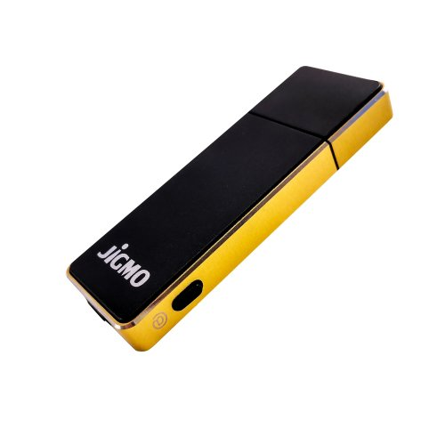 Dictaphone Voice Recorder Voice Activated - Audio Recording Device with USB and Battery Indicator/Data Space Indicator, (Gold) by JiGMO, 8GB, 512...