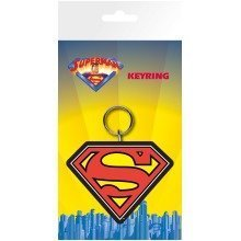 Superman Logo Keyring