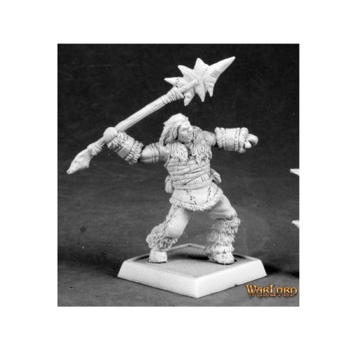 Reaper Miniatures Warlord 14603 Barbarian Spearthrower