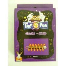Elasto-snap Magic Trick Puzzle - Hair Coral Ribbon Bow Concorde Clip Mia -  hair coral ribbon bow concorde clip mia accessories clear diamante