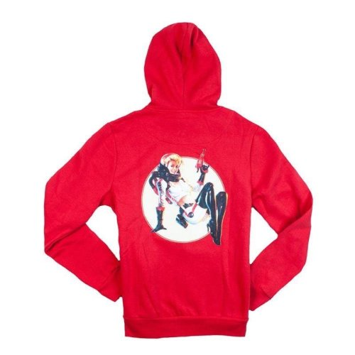 Fallout 4 Nuka Cola Pin Up Full Length Zipper Hoodie M - Red (BH001FAL-M)