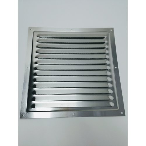 Air Vent Grill - 250 x 250 mm Metal - Aluminium Rust Free with Mosquito /  Bug Net