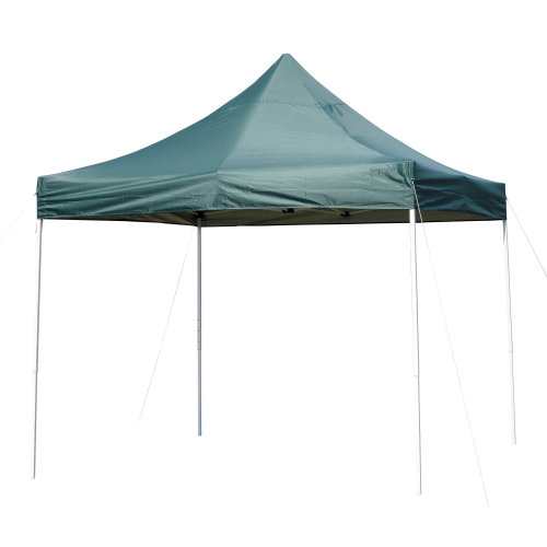 Outsunny 3x3M Pop-Up Canopy Tent – Green | Gazebo Canopy Tent