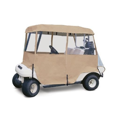 Classic Accessories 72072 4-Sided Deluxe 2-Person Golf Cart Enclosure