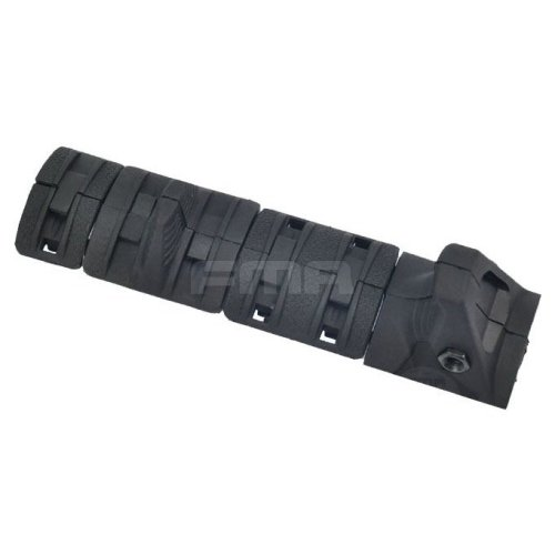 Airsoft Aeg Handguard Hand Stop Rail Cover Panels Kit Set Ris Grip Black Xtm