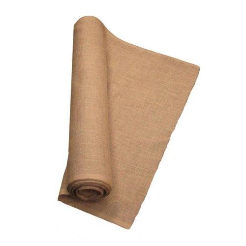 LA Linen 40IN-Burlap-80YardRoll 80 Yards Burlap Fabric, Natural - 40 in.