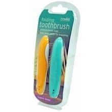 Travels Folding Toothbrush -  travels folding toothbrush