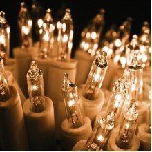 Christmas String Led Fairy Lights Clear Bulbs