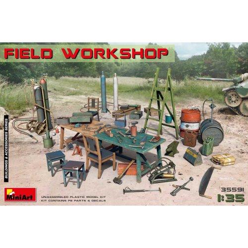 MIN35591 - Miniart 1:35 - Field Workshop