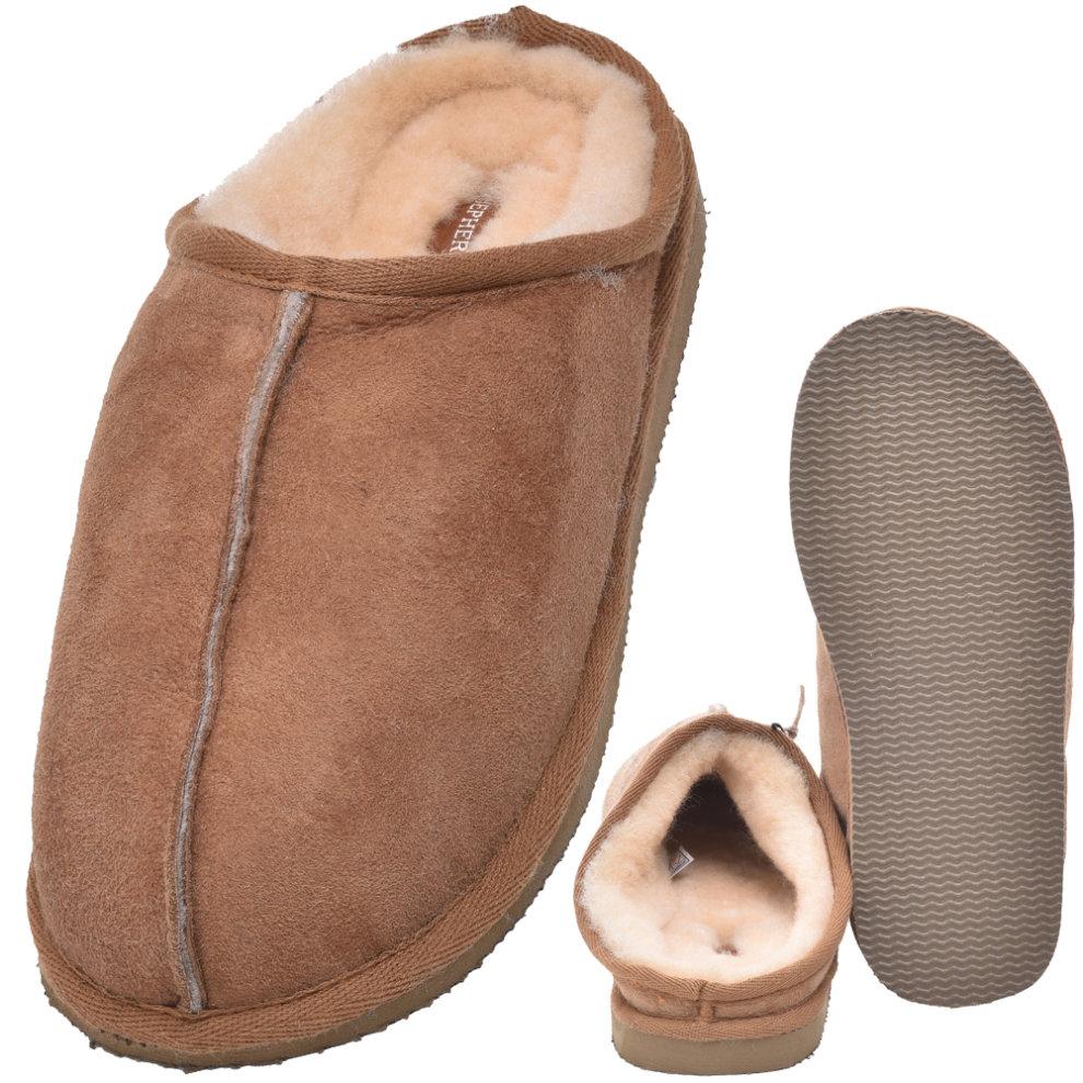 3607862e865c7 Shepherd of Sweden Ladies Hard Sole Sheepskin Mule Slippers on OnBuy
