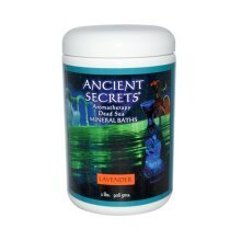 Ancient Secrets Dead Sea Aromatherapy Bath Salts Lavender 2 lb