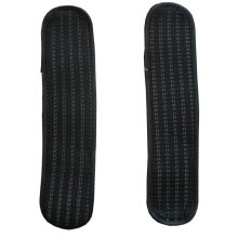 [Stripe Black] Soft Chair Armrest Covers Armrest Pads Chair Arm Covers